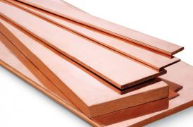 Copper bars and sheets